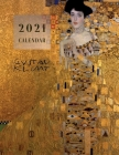 2021 Calendar: Klimt Cover Image