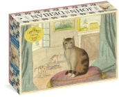 John Derian Paper Goods: Calm Cat 750-Piece Puzzle Cover Image