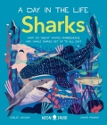 Sharks (A Day in the Life): What Do Great Whites, Hammerheads, and Whale Sharks Get Up To All Day? Cover Image