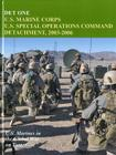 Det One: U.S. Marine Corps U.S. Special Operations Command Detachment, 2003-2006 Cover Image