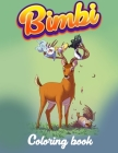 Bimbi Coloring Book: 40 High Quality Bambi Coloring Pages. Cover Image