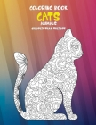 Coloring Books Cheaper than Therapy - Animals - Cats Cover Image