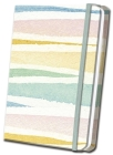 Pastel Striped Linen Journal Cover Image