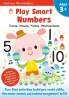 Play Smart Numbers Age 3+: At-home Activity Workbook Cover Image