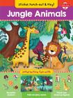 Jungle Animals: Interactive fun with fold-out play scene, reusable stickers, and punch-out, stand-up figures! (Sticker, Punch-out, & Play!) Cover Image