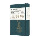 Moleskine 2021-2022 Harry Potter Weekly Planner, 18M, Pocket, Tide Green, Hard Cover (3.5 x 5.5) Cover Image