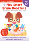 Play Smart Brain Boosters Age 4+: At-home Activity Workbook Cover Image