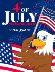 4th of July Coloring Book Cover Image