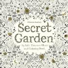 Secret Garden: An Inky Treasure Hunt and Coloring Book Cover Image