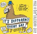 It's Different Every Day Page-A-Day Calendar 2019 Cover Image