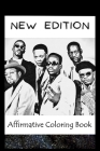 Affirmative Coloring Book: New Edition Inspired Designs Cover Image