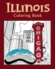 Illinois Coloring Book Cover Image