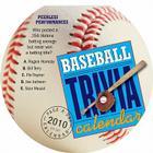 Baseball Trivia Diecut Calendar 2010 Cover Image