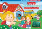 Fisher-Price My First Learning Activity Placemats: These 36 placemats include puzzles, activities, and so much more fun things to learn! (Fisher Price Activity Books) Cover Image