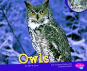 Owls (Pebble Plus: Nocturnal Animals) Cover Image