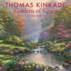 Thomas Kinkade Gardens of Grace with Scripture 2022 Wall Calendar Cover Image