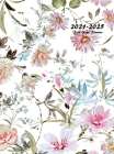 2021-2025 Five Year Planner: 60-Month Schedule Organizer 8.5 x 11 with Floral Cover (Volume 6 Hardcover) Cover Image