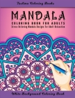 Mandala: An Adult Coloring Book Featuring 50 of the World's Most Beautiful Mandalas for Stress Relief and Relaxation ( White Ba Cover Image