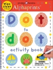 Alphaprints Dot to Dot Activity Book Cover Image