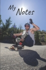 My notes: Longboard Notebook - Size 6