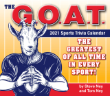 2021 G.O.A.T. Sports Trivia Boxed Daily Calendar Cover Image