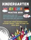 Kindergarten - English Practice Book: Arbeitsblätter für Vorschulkinder zum Lernen und Schreiben auf Englisch Cover Image