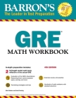 GRE Math Workbook (Barron's Test Prep) Cover Image