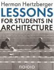 Lessons for Students in Architecture Cover Image