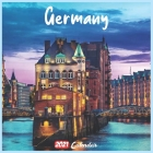 Germany 2021 Calendar: Official Germany Wall Calendar 2021, 18 Months Cover Image