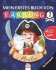 Mein erstes buch von - piraten 1 - Nachtausgabe: Malbuch für Kinder von 4 bis 12 Jahren - 25 Zeichnungen - Band 1 Cover Image