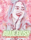 Billie eilish coloring book: coloring book billie eilish.8.5*11 inche 52 page Cover Image