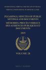 Pleadings, Minutes of Public Sittings and Documents / Mémoires, Procès-Verbaux Des Audiences Publiques Et Documents, Volume 28 (2019) Cover Image