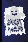 Sheet Faced: Ghost Spooky Ghoul Halloween Party Scary Hallows Eve All Saint's Day Celebration Gift For Celebrant And Trick Or Treat Cover Image
