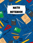 Math Notebook: Large Simple Graph Paper Notebook / Mathematics Notebook / 120 Quad ruled 5x5 pages 8.5 x 11 / Grid Paper Notebook for Cover Image