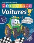 Mon premier livre de coloriage - Voitures 1 - Edition nuit: Livre de Coloriage Pour les Enfants de 4 à 12 Ans - 27 Dessins - Volume 1 Cover Image