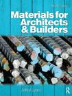 Materials for Architects and Builders Cover Image