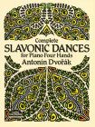 Complete Slavonic Dances for Piano Four Hands Cover Image