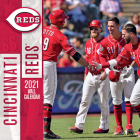 Cincinnati Reds 2021 12x12 Team Wall Calendar Cover Image