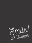 Smile! It's Sunnah: College Ruled Notebook for Muslim Students and Teachers - Ideal Islamic Gift (Black) Cover Image