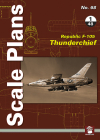 Republic F-105 Thunderchief: 1/48 Scale (Scale Plans) Cover Image