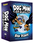 Dog Man: The Cat Kid Collection: From the Creator of Captain Underpants (Dog Man #4-6 Boxed Set) Cover Image