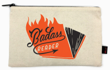 Badass Reader Pencil Pouch Cover Image