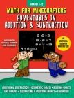 Math for Minecrafters: Adventures in Addition & Subtraction Cover Image