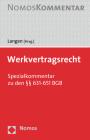 Werk- Und Bauvertragsrecht: Spezialkommentar Zu Den 631-650 V Bgb Cover Image