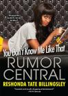You Don't Know Me Like That Cover Image