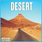 Desert 2021 Wall Calendar: 18 Months Mini Wall Calendar 2021 Cover Image