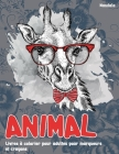 Livres à colorier pour adultes pour marqueurs et crayons - Mandala - Animal Cover Image