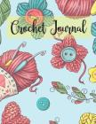 Crochet Journal: DIY Patterns Graphghan Paper Book Cover Image