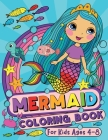 Mermaid Coloring Book for Kids Ages 4-8 Cover Image