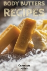 Body Butter Recipes Cover Image